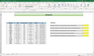 Formation Excel - Les fonctions statistiques